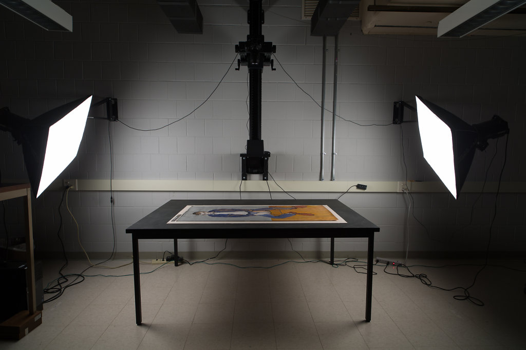 UConn Digitization and Conservation Labs 2015